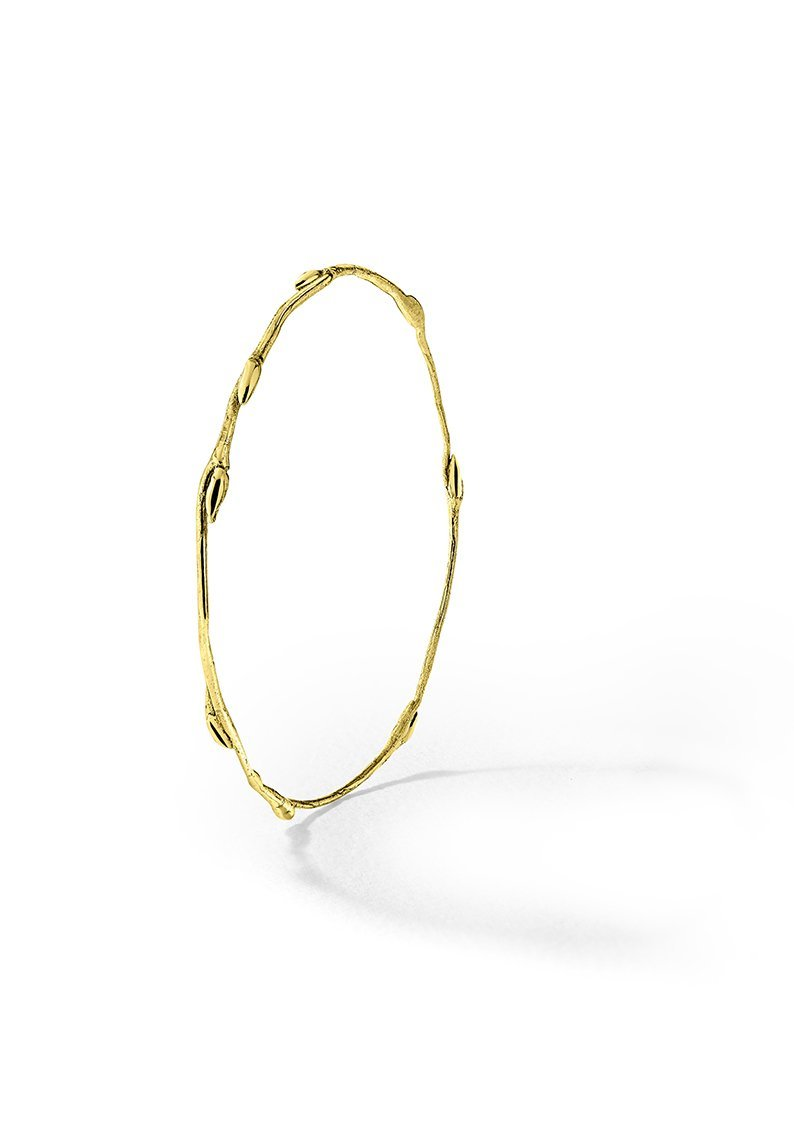 Bracelet jonc or brindille