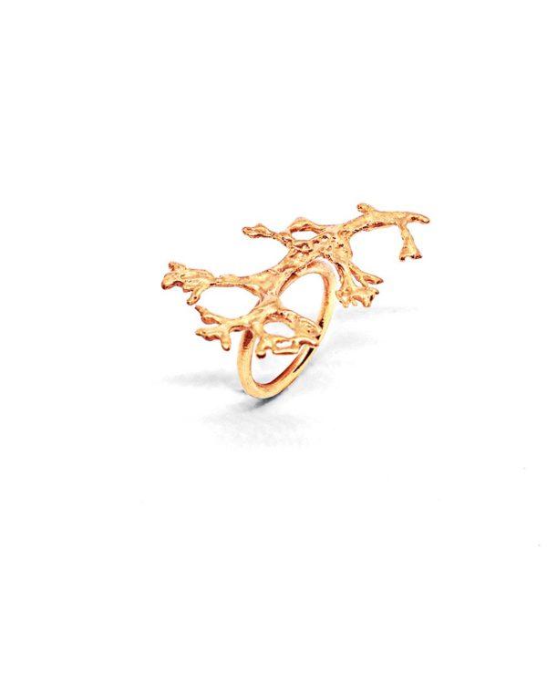 bague-or-nature-brute-bijoux-artisanaux-lyon
