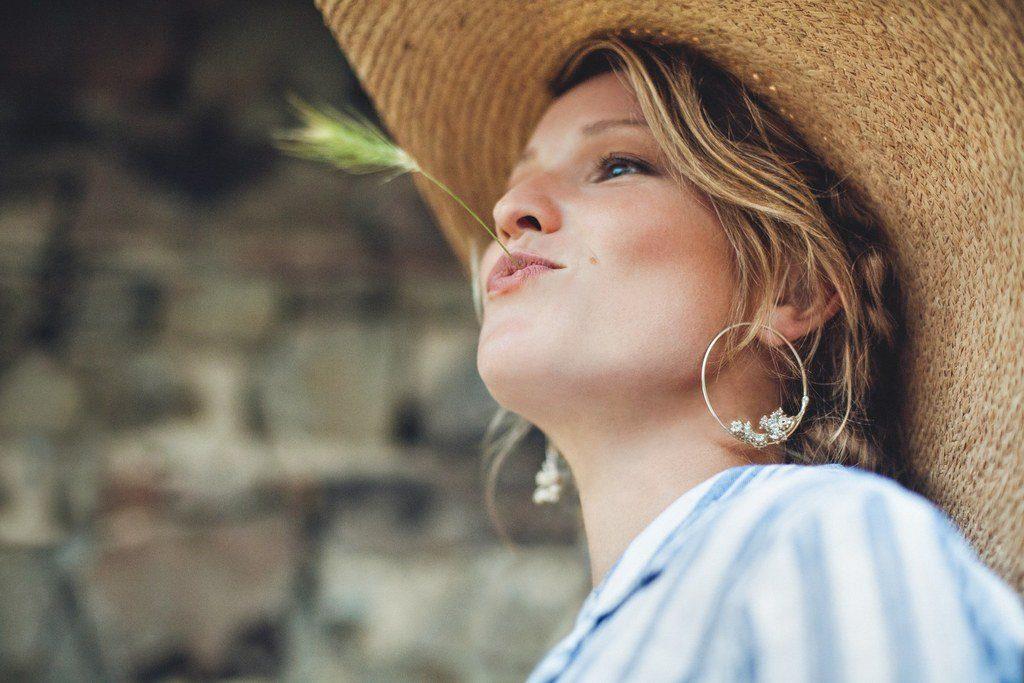 Boucles d'oreilles argent Lyon bijouterie Laura Guitte