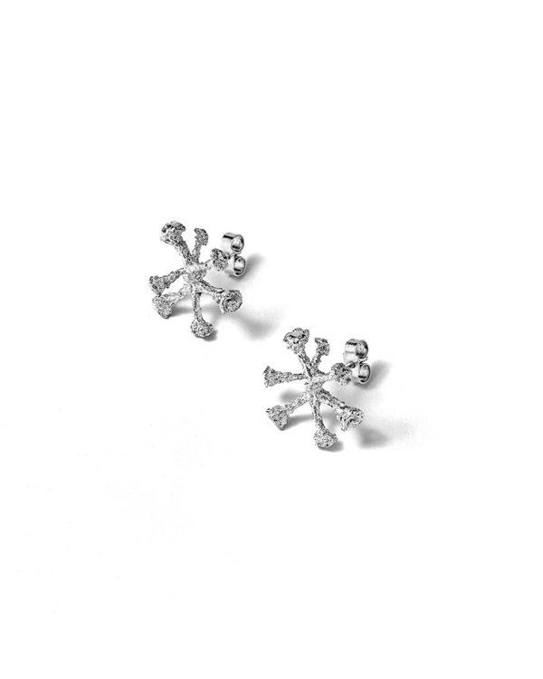 Boucles d'oreilles argent bijouterie Lyon Laura Guitte
