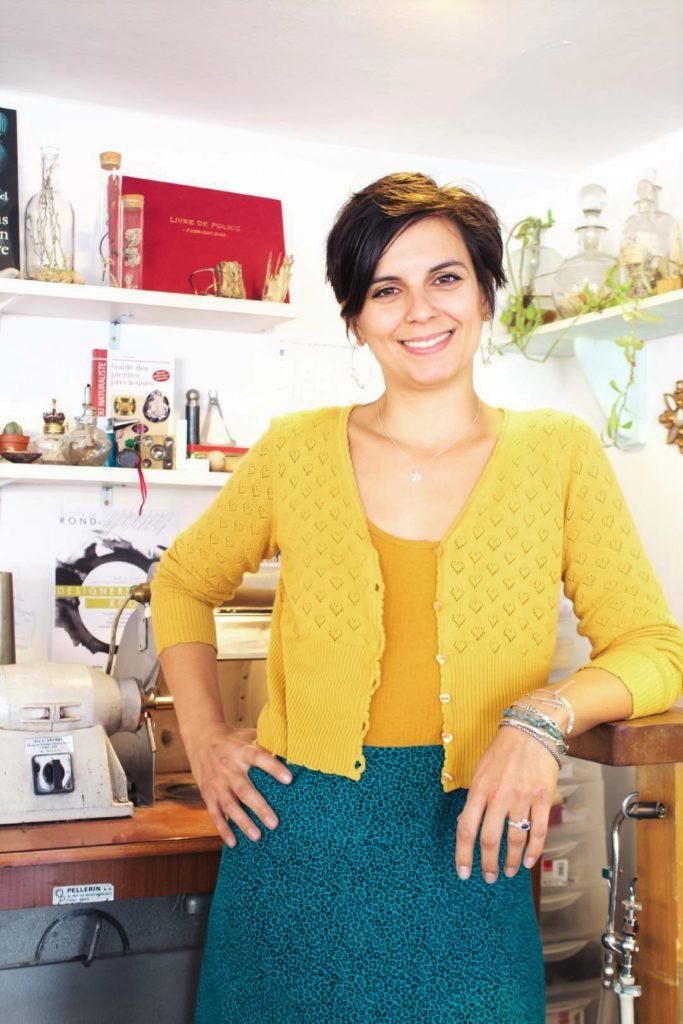 Laura Guitte bijoux créateurs lyon bijouterie sur mesure bague argent
