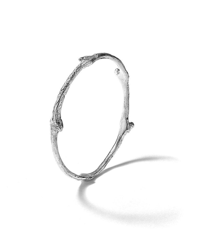 bracelet-jonc-argent-sarment-vigne-épais-bijouterie-lyon-laura-guitte