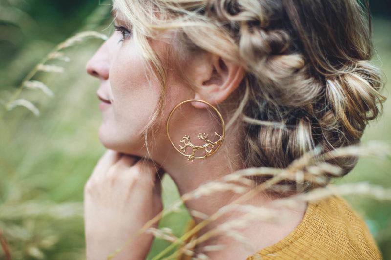 Bijouterie lyon bijoux créateur bague collier nature lichen vigne